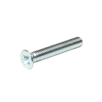 M6 x 40 Pozi Csk Machine Screws BZP