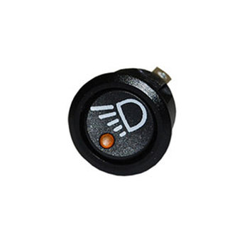 On/Off Single Pole Rocker Switch 12/24V Amber LED Indicator