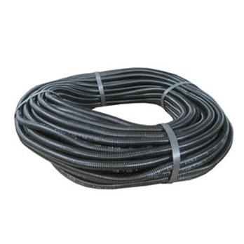 10.5mm x 50m Convoluted Split Black Nylon Tubing