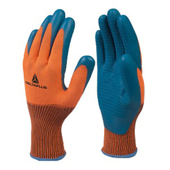 S8 Polyester Latex Palm Coated Glove