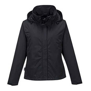 Large Black Ladies Corporate Shell Jacket