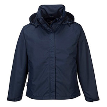 Large Navy Ladies Corporate Shell Jacket