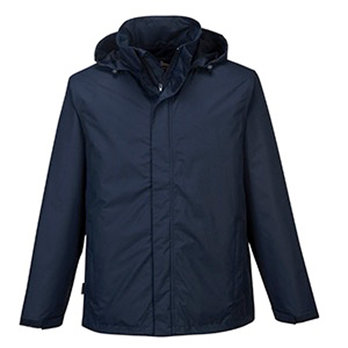 Medium Navy Mens Corporate Shell Jacket