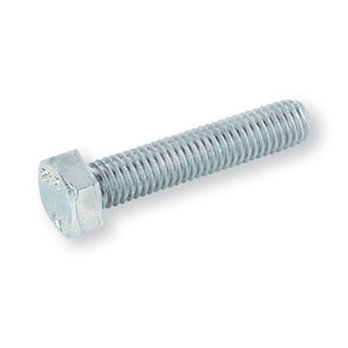 M3 x 25mm Hex HT Set Screws BZP