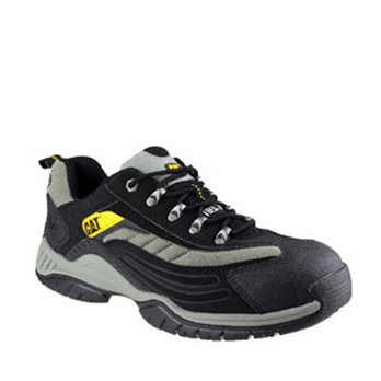 S12 CAT Moor Safety Trainer Black