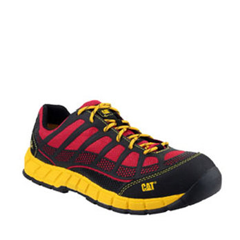 S6 CAT Streamline Safety Shoe Red